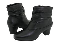 David Tate Vera Black Leather - Zappos.com Free Shipping BOTH Ways