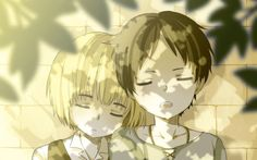 Eren x Armin (Attack on Titan)