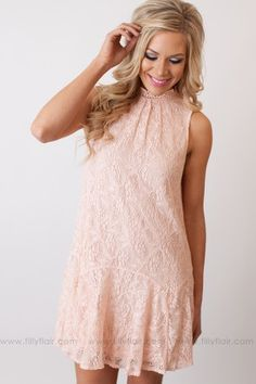 The Sweetest Thing Shift Dress in Pink