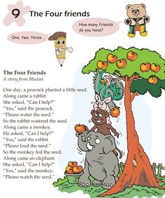 Grade 1 Reading Lesson 9 Fables And Folktales  The Four Friends