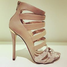 #Shoes #Nude