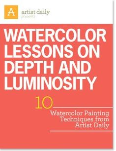 Watercolor Lessons on Depth and Luminosity: 10 Watercolor Painting Techniques Watercolor Painting Techniques, Watercolor Tips, Watercolour Tutorials, Painting Lessons, Painting Tips, Watercolour Painting, Art Lessons, Painting & Drawing, Watercolours