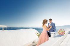 My perfect wedding in Santorini