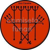 ponto riscado exu caveira 1 by camiseta-funari