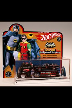 Batman and Robin Hot Wheel