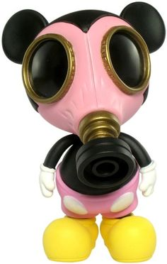 Mask Mouse by Ron English newer japaneese toy, i think its irresitable.