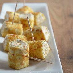 crepes rolls with ricotta (rotolini di crepes alla ricotta)