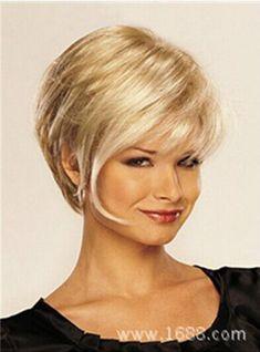 $13.49 - Hot Style! Fashion Wig Charm Women's Short Mix Blonde Full Wigs #ebay #Fashion
