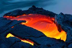 Le spectacle saisissant du volcan Kilauea Hawaï