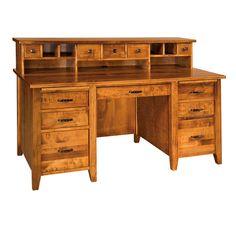 Country Squire Desk | Amish Desks, Amish Furniture | Shipshewana Furniture Co.