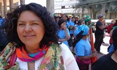 Berta Cáceres, Honduran human rights and environment activist, murdered