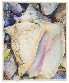 Joseph Raffael| Journey to the Temple, 2012, watercolor on paper | Nancy Hoffman Gallery