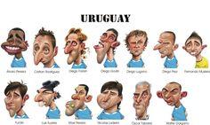 Fuentes de Información - Caricaturas de futbolistas :)