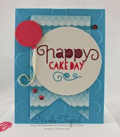 Creative Challenge Club Stampin Up - Age Awareness