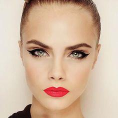 Tendencias make-up: maquillaje pin up ,tutoriales.   Cuidar de tu belleza es facilisimo.com