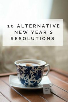 Sick of standard new year's resolutions? Try these alternative new year's resolutions, based on looking after yourself, others and the environment for a positive and thoughtful start to the New Year.