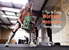 5 Tips to Carry Workout Motivations Through Winter - ideas to keep you breaking a sweat indoors when it is cold outside.