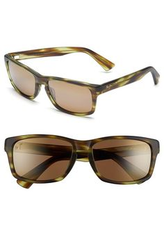 Maui Jim 'McGregor Point - PolarizedPlus®2' 58mm Sunglasses available at #Nordstrom