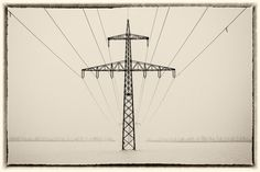 """500px / Photo """"Electrical Tower"""" by Ernst Gamauf"""
