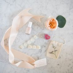 """Marigold & Grey, you've done it again. We were already obsessed with your customizeable wedding welcome bags, which we described as """"artisanal, locally-minded welcome bags guaranteed to look as picure-perfect as the products inside"""" in the Summer/Fall 2015 edition of..."""