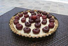 Raw Vegan Cherry Tart