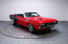 1971 Plymouth Viper Cuda Convertible 1/2 - Thanks, I'll just park this in the garage now.