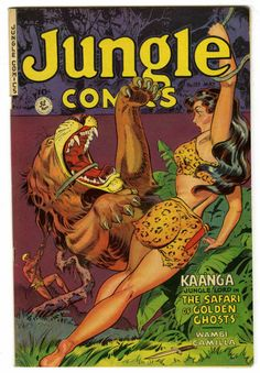 Maurice Whitman? | Jungle Comics #137 | Fiction House | 1951
