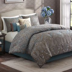 Wyndham 7-pc. Comforter Set, Multicolor