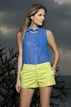 Blusa Petunia. Moda Color Wear.