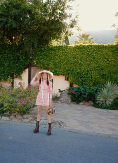 The wardrobe of Ms. B: Paisley in Palm Springs Hermes Boots, Asos Dress, Cambridge Satchel, Jeffrey Campbell, Palm Springs, Chloe, Ms, Paisley, Louis Vuitton