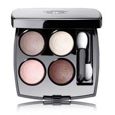 Les 4 ombres à paupières effet multiple, Chanel - 15 palettes nude pour un regard d'été  - Elle