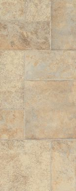 "Stone Laminate Flooring from Armstrong ""Weathered way"" in antique cream. Types Of Countertops, Bathroom Countertops, Kitchen Flooring, Laminate Flooring, Flooring Ideas, Kitchen Redo, Vinyl Flooring, Kitchen Backsplash, Cream Stone"