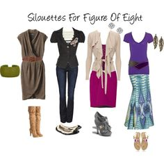 """Silouettes For Figure Of Eight(finally, body shape guide that """"works"""" for me)"""