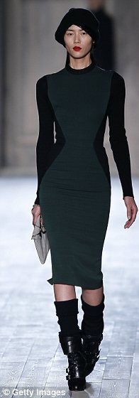Great new Victoria Beckham dress from NY Fashion Week 2/12/12
