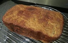 Gluten, egg, dairy, nut and soy free cinnamon bread yum!