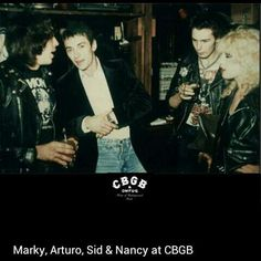Marky Ramone, Arturo Vega, Sid Vicious, and Nancy Spungen Punk Rock, Sid And Nancy, George Harrison, Olivia Harrison, Patti Smith, Step Kids, Joan Jett, Ramones, Dark Horse
