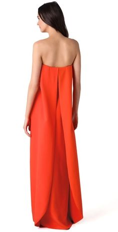 Calvin Klein Collection Oksana Strapless Gown | SHOPBOP