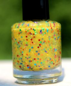 Sunshine Rainbow handmade custom nail polish by GlimmerbyErica, $10.00