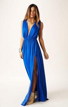goddess maxi dress // Blue Life #whatsnew #planetblue