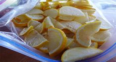 Learn More about the Reason Why You Should Freeze Lemons