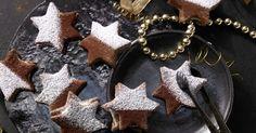 Gefüllte Tiramisu-Sterne: Die himmlischen Plätzchen zergehen auf der Zunge und sind viel kalorienärmer als das namensgebende Dessert.