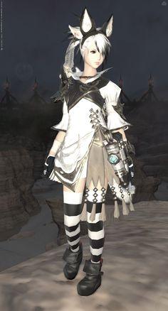 Monochroma Final Fantasy Xiv, Dark Fantasy, Fantasy House, Little Miss, Costume Design, Manga Anime, Character Design, Glamour, Costumes