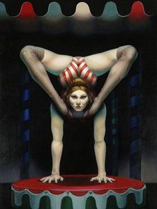 """The Contortionist"" Gill Del-Mace"