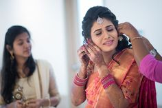 Makeup was done for all the functions by Ansari, www.shopzters.com