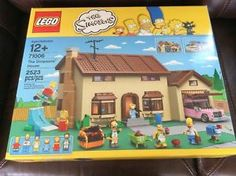 a lego the simpsons house 71006 set w homer simpson lisa ned flanders bart new