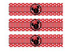 Hey, I found this really awesome Etsy listing at https://www.etsy.com/listing/196024985/red-and-black-polka-dot-minnie-mouse