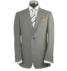 Just bought a wool suit like this. No pinstripes though.