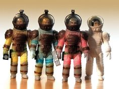Marmit Spacesuit figures from A L I E N