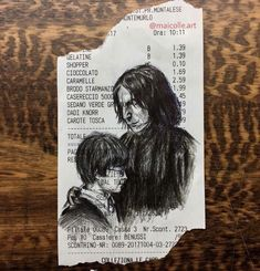 Harry Potter and Severus