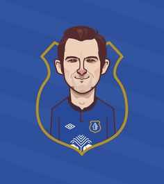 Leighton Baines by David Flanagan.